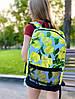 Рюкзак с принтом лимоны