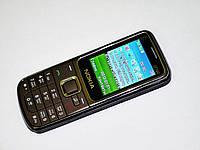 Телефон Nokia 2710 Коричневый - 2Sim Металл корпус, фото 1