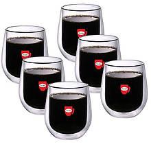 Набор чашек Con Brio с двойными стенками 200 мл упаковка 6 шт (СВ-8720)