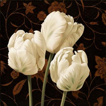 КДИ-0008 Набор алмазной вышивки Белые тюльпаны, фото 2