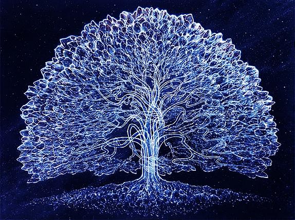 КДИ-0821 Набор алмазной вышивки Дерево жизни-2, фото 2