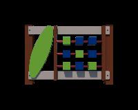Деревянная секция Кубики для ограждения игровой площадки на даче, в детском саду, без столбов 100х6х100 см