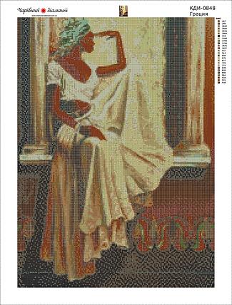 КДИ-0848 Набор алмазной вышивки Грация, фото 2