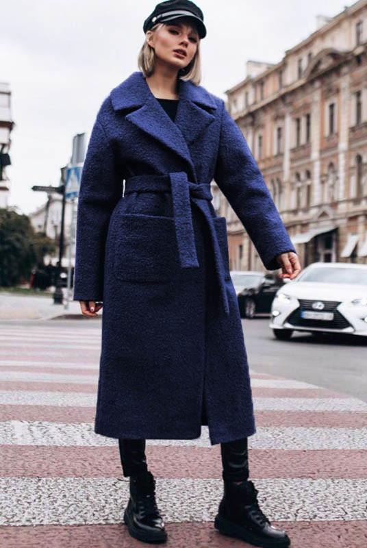 Модные пальто Берлин букле 62-70рр