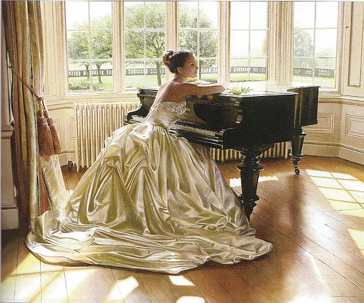 КДИ-0901 Набор алмазной вышивки За роялем. Художник Rob Hefferan, фото 2
