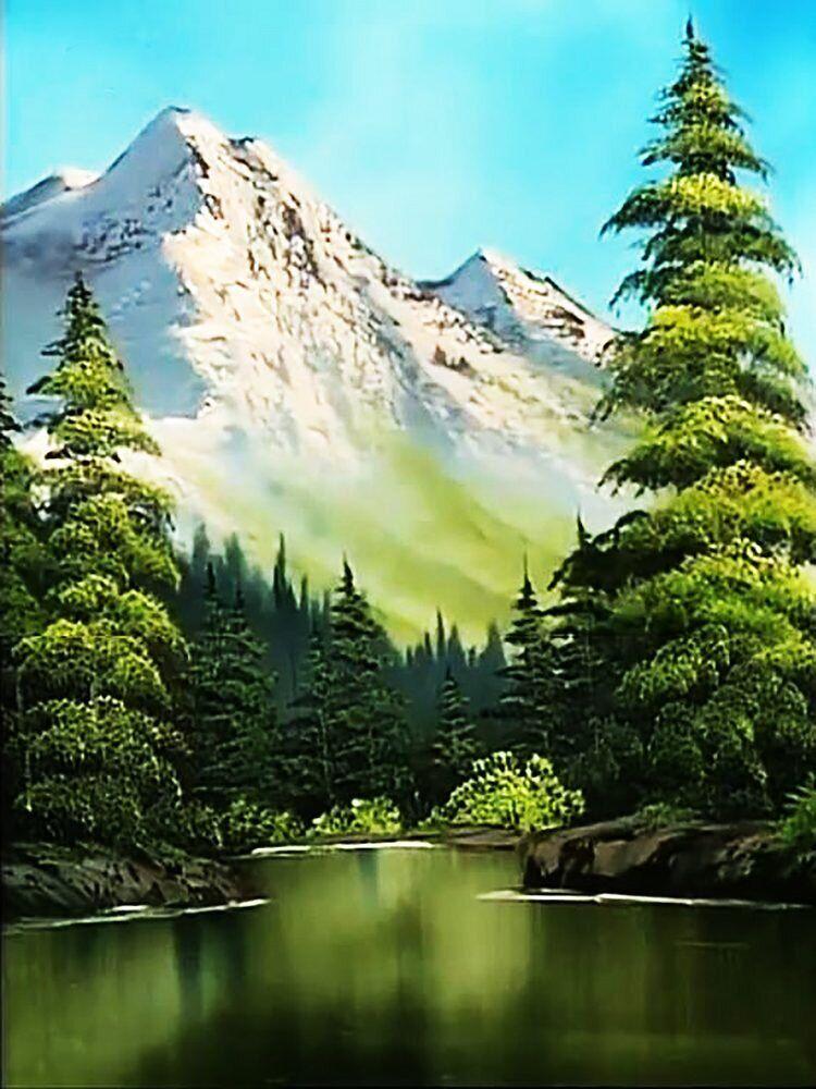 КДІ-0939 Набір алмазної вишивки Снігова вершина-2