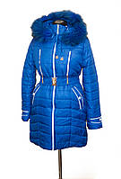 Женская удлиненная куртка - зигзаг., фото 1