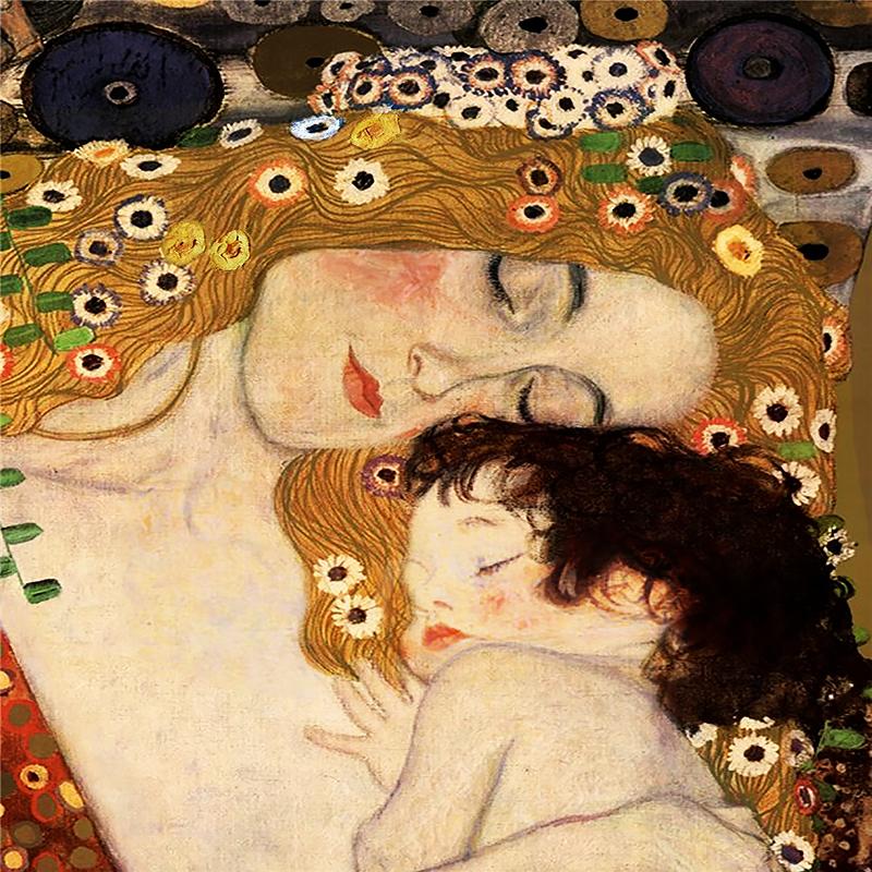 КДИ-0230 Набор алмазной вышивки Материнская любовь. Художник Gustav Klimt