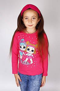 Батник детский розовый Kids 457