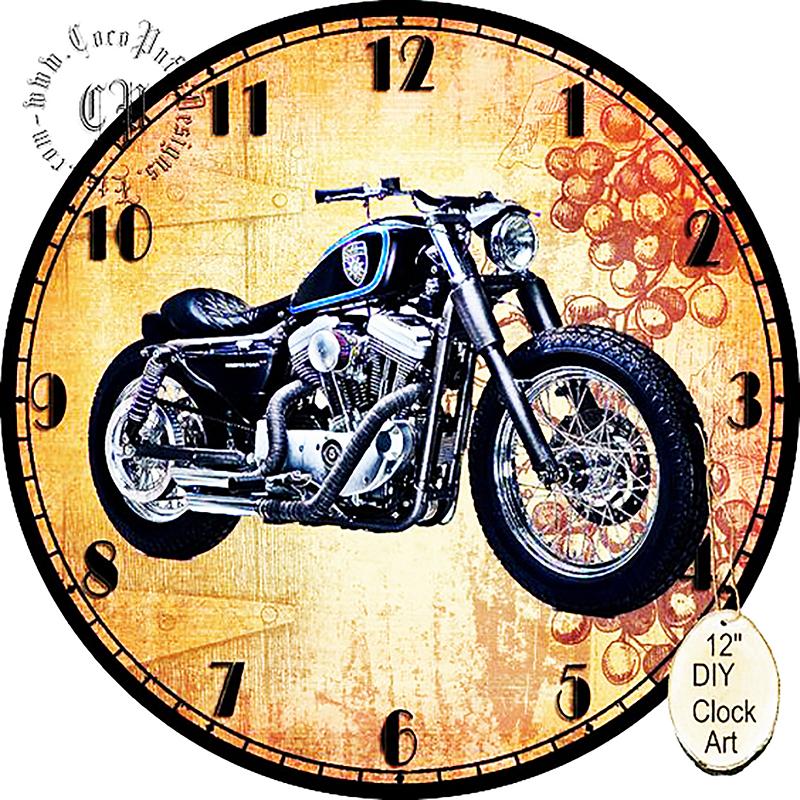КДІ-0332 Набір алмазної вишивки Годинник – Байкер