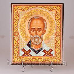 Икона Николай Угодник  (15 см)