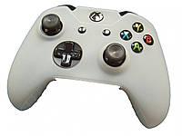 Силиконовый защитный чехол накладка на джойстик геймпад контроллер Ukc XBOX360 Белый