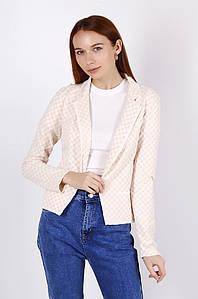 Пиджак женский персиковый 105895P