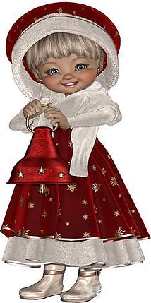 КДИ-0425 Набор алмазной вышивки Рождественская Фея, фото 2