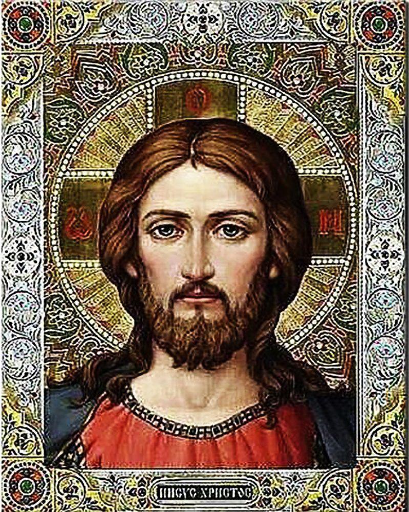 КДІ-0555 Набір алмазної вишивки Ісус Христос-3
