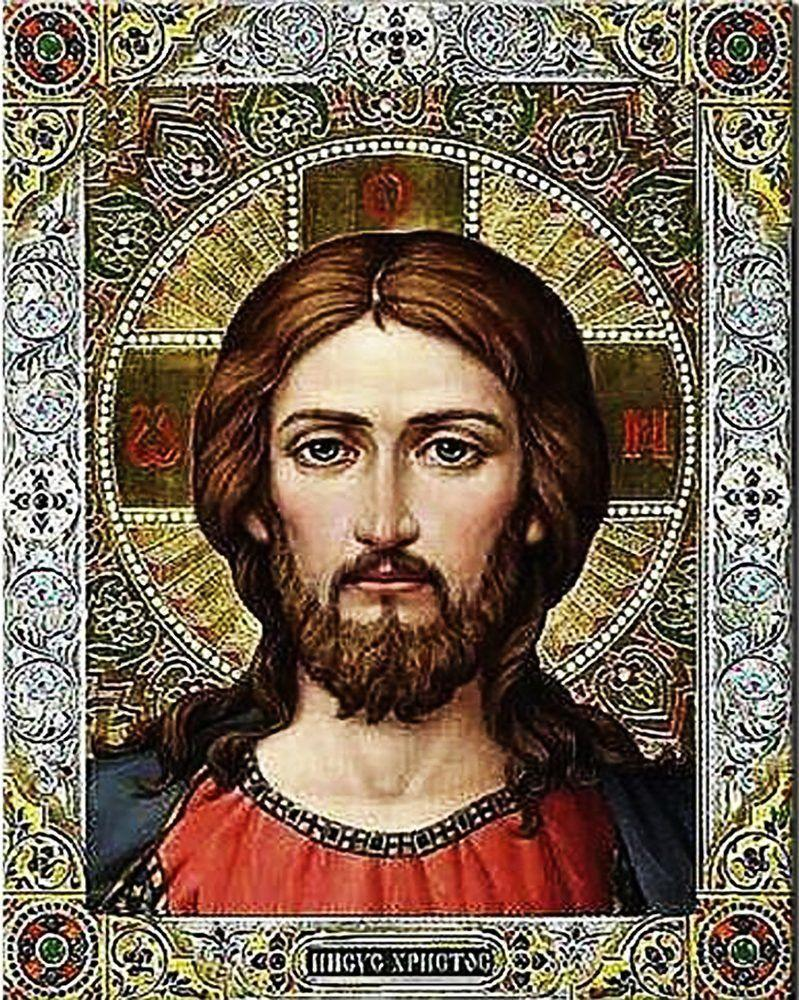 КДИ-0555 Набор алмазной вышивки Иисус Христос-3
