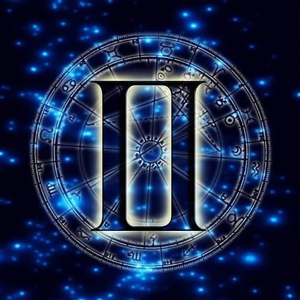 КДИ-0685 Набор алмазной вышивки Знак зодиака. Близнецы, фото 2