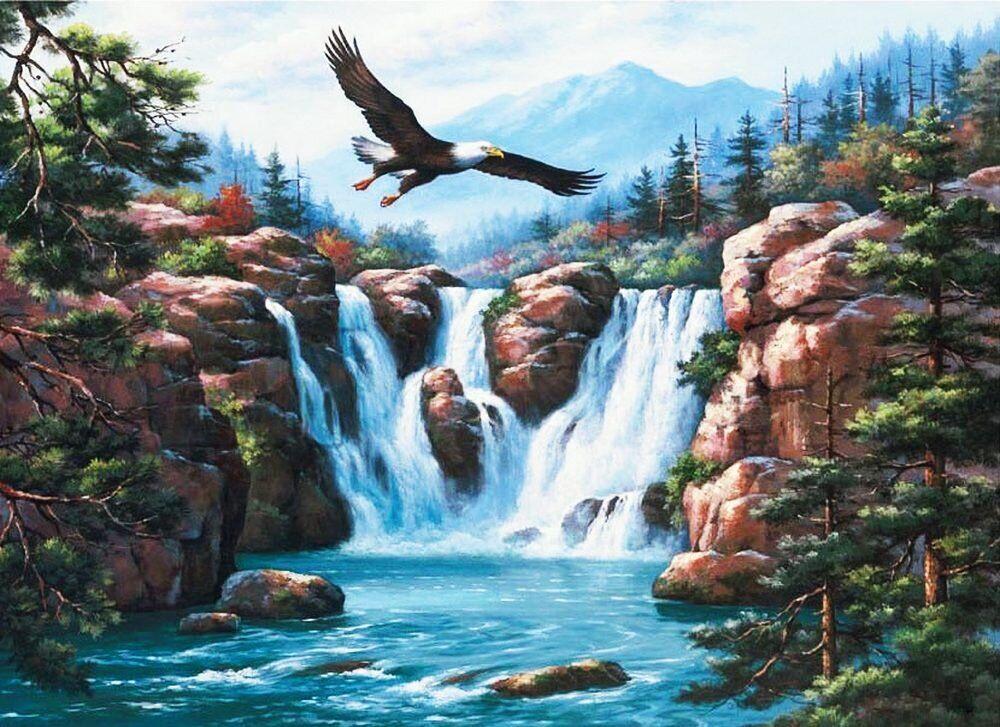 КДИ-0730 Набор алмазной вышивки Полет орла