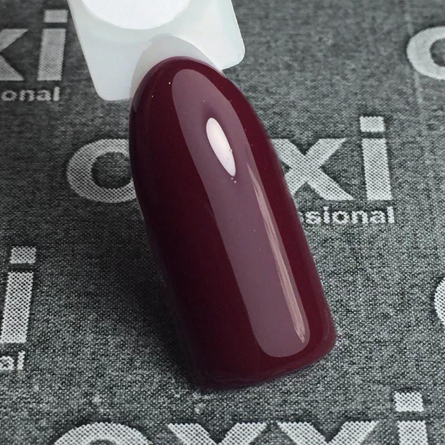 Гель-лак Oxxi Professional 158 10 мл (марсала, эмаль)