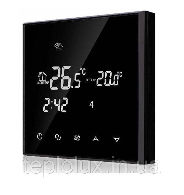 Сенсорний тижневий терморегулятор Heat Plus BHT-800GB sensor black
