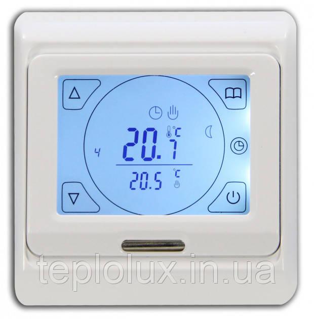Сенсорный терморегулятор программируемый для теплого пола  Menred Е91