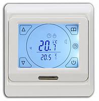 Сенсорний програмований терморегулятор для теплої підлоги Menred Е91