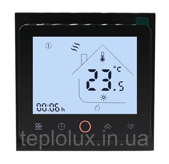 Программируемый  терморегулятор Beok PWT-002 (цвет черный)