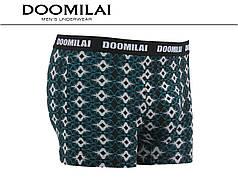 Чоловічі боксери стрейчеві з бамбука «DOOMILAI» Арт.D-01277