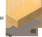Клинкерная брусчатка БрукКерам Классика Янтарь, фото 6