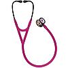 Стетоскоп Littmann® Cardiology IV™, малиновий із дзеркальною головкою кольору веселки