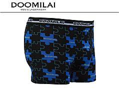 Чоловічі боксери стрейчеві з бамбука «DOOMILAI» Арт.D-01399