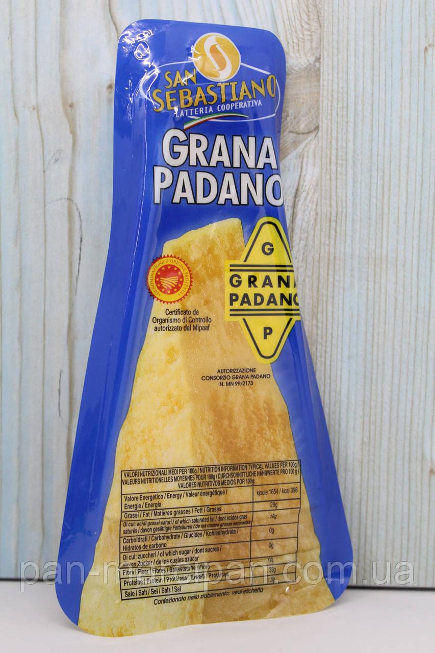 Сир Grana Padano San Sebastiano 200г Італія