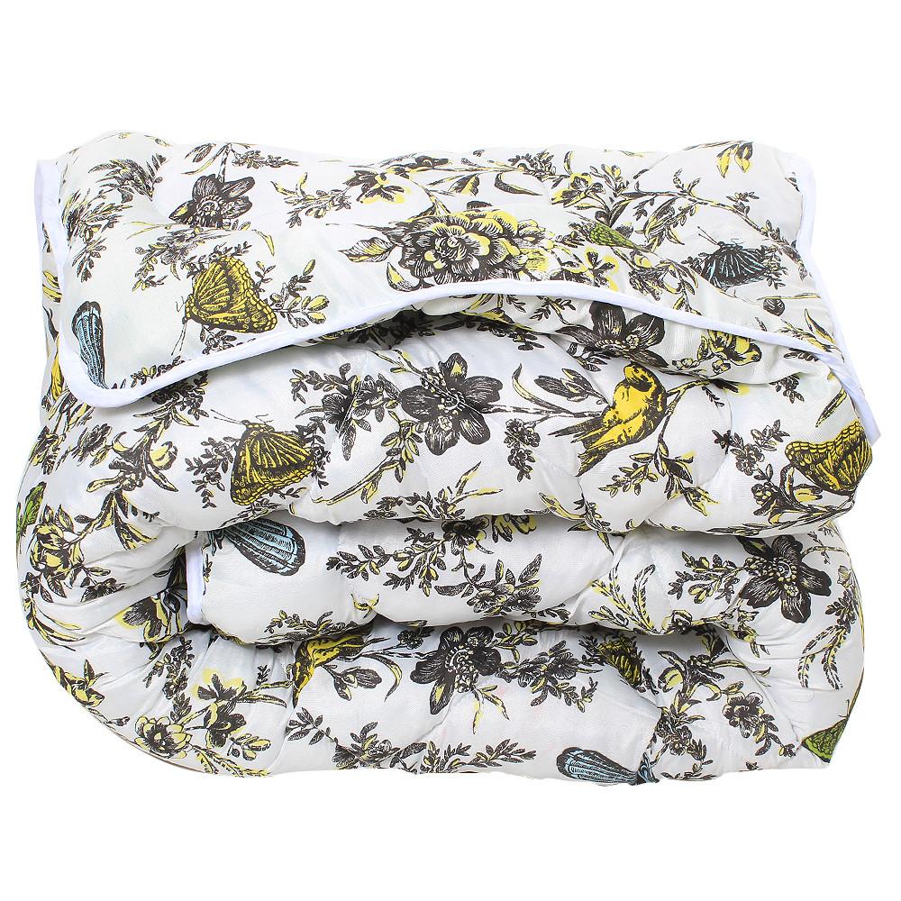 Зимнее одеяло с антиаллергенным наполнителем, ковдра Зимова полиэстер /синтепон