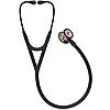 Стетоскоп Littmann® Cardiology IV™, чорний із дзеркальною головкою кольору веселки