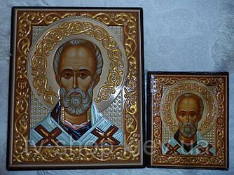 Икона Николай Угодник  (18 см)