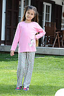 Пижама подросток 7-8 лет. Код: 40834