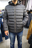 Пуховик мужской SnowImage SiCBM-V105/Серый