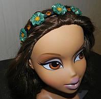 """Обруч для волос """"Незабудки"""","""