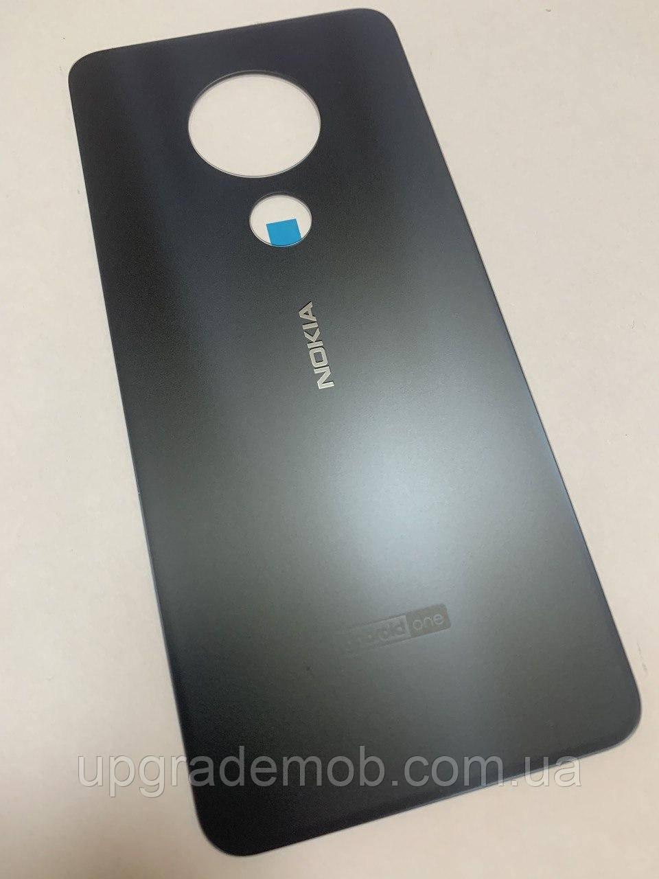 Задняя крышка Nokia 7.2 Dual Sim TA-1196, черная, оригинал