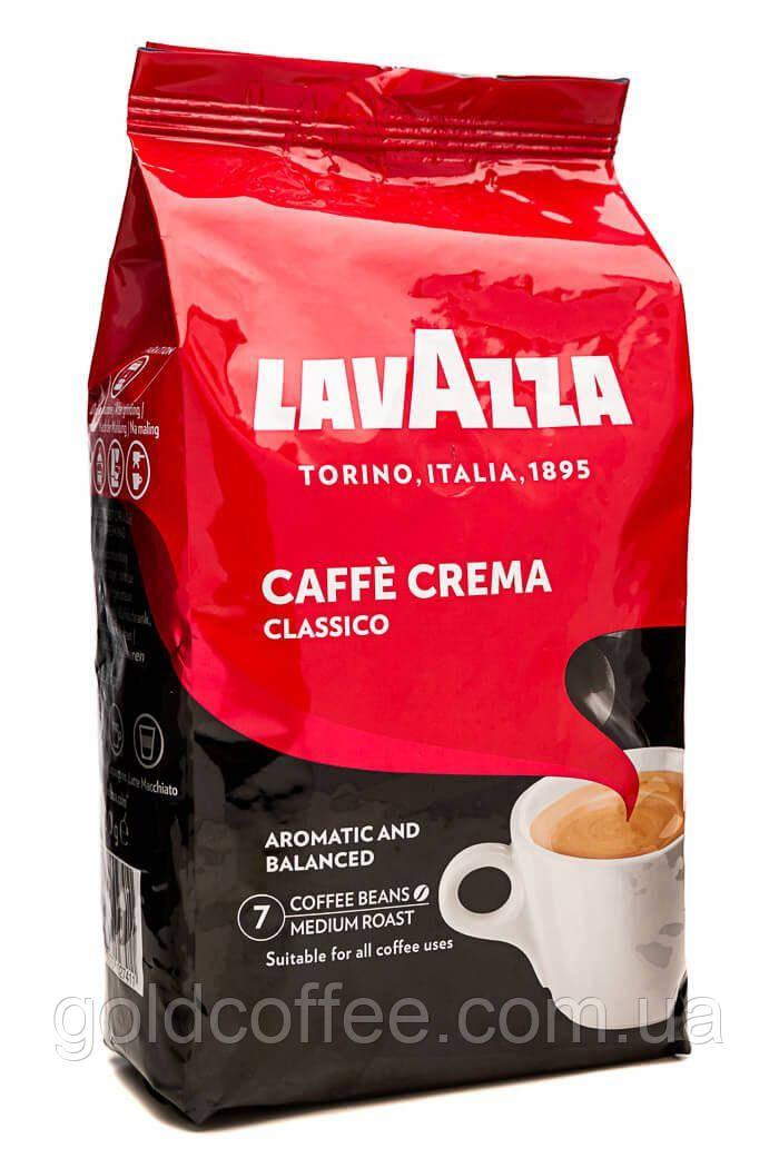 Зерновой кофе Lavazza Caffe Crema Classico 1 кг