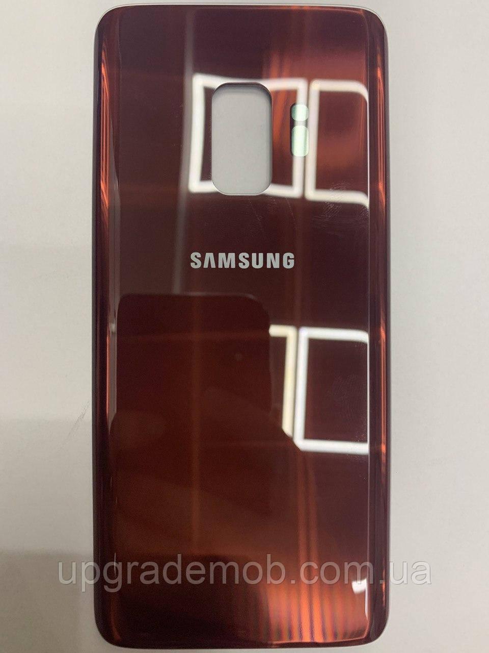 Задняя крышка Samsung G960F Galaxy S9, красная, Burgundy Red, оригинал