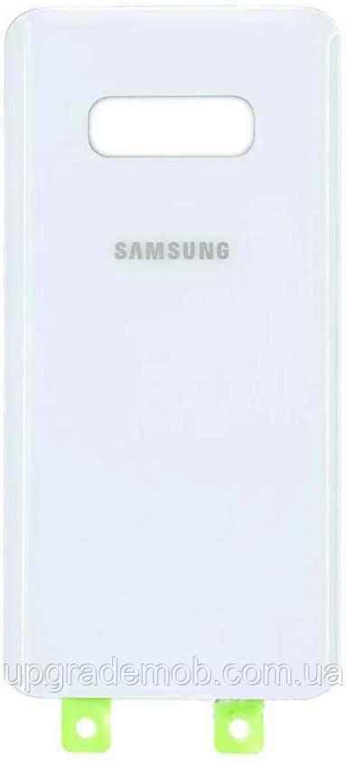 Задняя крышка Samsung G970 Galaxy S10e, белая, оригинал