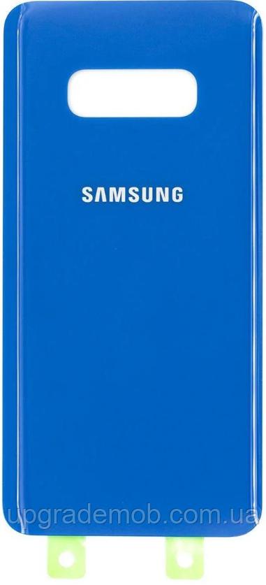 Задняя крышка Samsung G970 Galaxy S10e, синяя