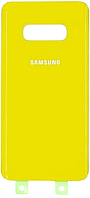 Задняя крышка Samsung G970 Galaxy S10e, желтая