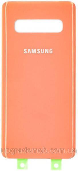 Задняя крышка Samsung G973 Galaxy S10, розовая, оригинал