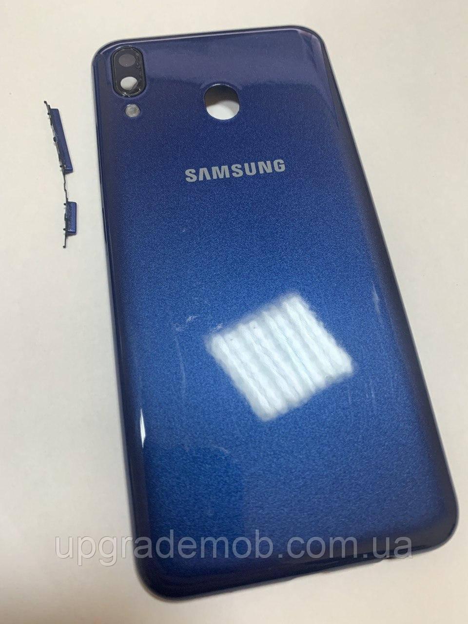Задняя крышка Samsung M205F Galaxy M20 2019, синяя, оригинал