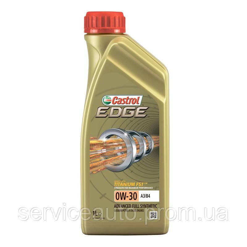 Моторное масло CASTROL EDGE 0W-30 A3/B4 Titanium 1 Л R1EDG0334X1T