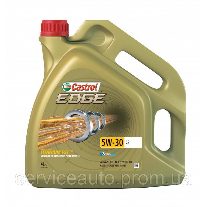 Синтетическое моторное масло CASTROL EDGE 5W-30 C3 4 Л RBEDG53C34X4L