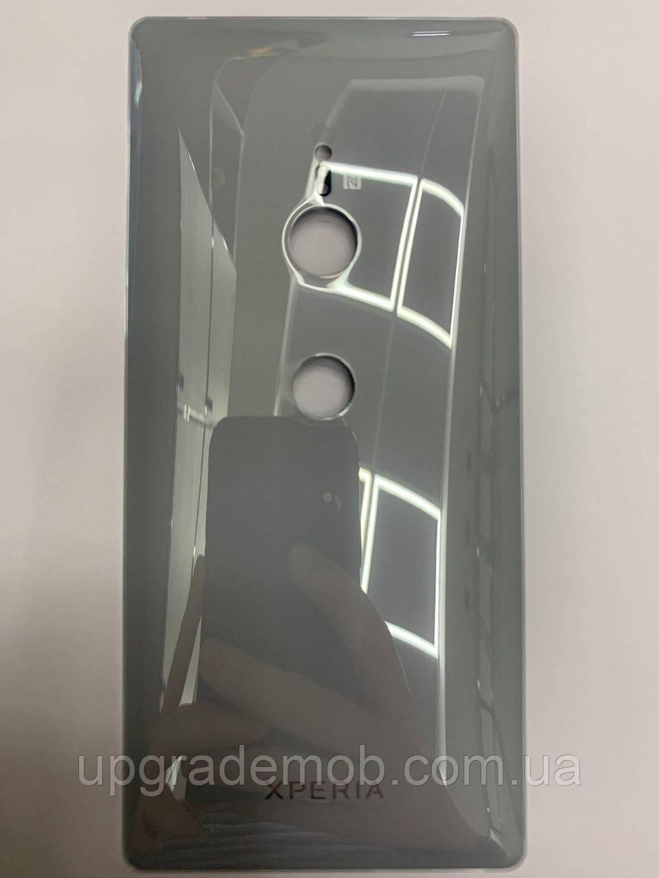 Задняя крышка Sony H8216 Xperia XZ2/H8266/H8276/H8296, серебристая, Liquid Silver, оригинал