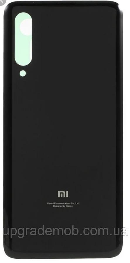 Задняя крышка Xiaomi Mi9 , черная, Piano Black, оригинал
